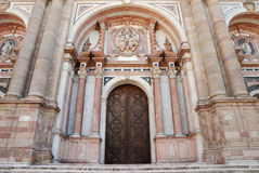 Eingang zur Kathedrale Lizenzfreies Stockbild
