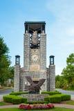 Eingang zur Leben-Universität in Marietta, GA stockbilder