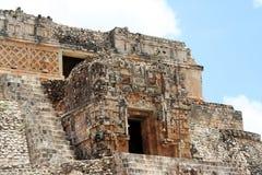 Eingang zur Oberseite der Pyramide Stockfotografie