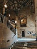 Eingang zur Oxford-Bibliothek lizenzfreie stockfotografie