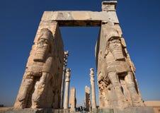 Eingang zur Persepolis-Achaemenid-Stadt von Shiraz Lizenzfreie Stockbilder