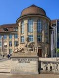 Eingang zur Universität von Zürich Lizenzfreie Stockbilder