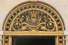 Eingangsdetail in Versailles Stockfoto