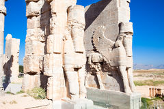 Eingangsgatter von Persepolis lizenzfreies stockbild