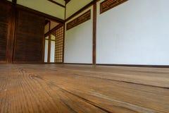 Eingangshalle des japanischen Tee-Hauses Shofuso ein kulturelles Juwel Lizenzfreie Stockfotos