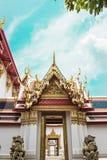 Eingangsstandort wat pho, Thailland Lizenzfreies Stockfoto