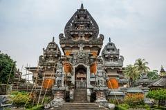 Eingangstor zum Museum Indonesien in Jakarta, Jawa, Indonesien Juli 2018 lizenzfreie stockfotografie