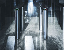 Eingangstorkarte Zugangs-Sicherheitssystem-Bürogebäude Lizenzfreies Stockfoto