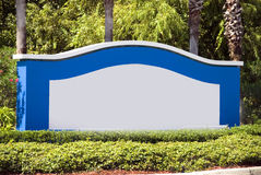 Eingangszeichen Lizenzfreies Stockbild