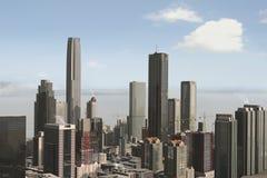 Eingebildete Stadt 23 Stockfotos