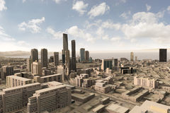 Eingebildete Stadt 63 Stockfotos