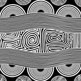 Eingeborener Kunstvektorhintergrund lizenzfreie stockbilder