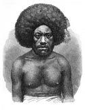 Eingeborener von Fidschi Lizenzfreie Stockfotografie