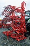 Eingehängte Ausrüstung für Traktor Tyumen Russland Lizenzfreies Stockfoto