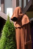 Eingehüllter Mönch Stockfotografie