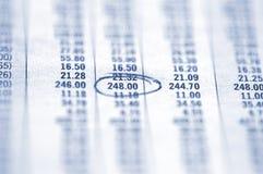 Eingekreiste Abbildung Lizenzfreies Stockfoto