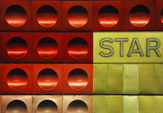 Eingekreiste Metallbeschaffenheit Lizenzfreie Stockbilder