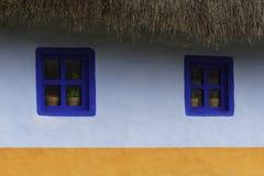 Eingemachte Anlagen in Windows Stockbild