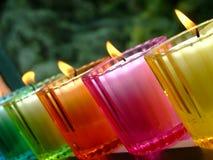 Eingemachte Kerzen Stockfoto