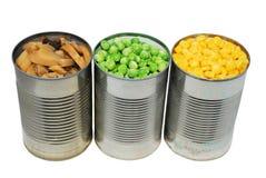 Eingemachtes Gemüse stockbilder