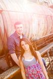 Eingerückte Paare lizenzfreie stockbilder