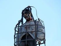 Eingesperrter Monster-Mann Stockbilder