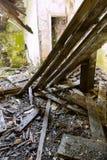 Eingestürzte Decke Stockbilder