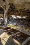 Eingestürzte Decke Stockfotografie