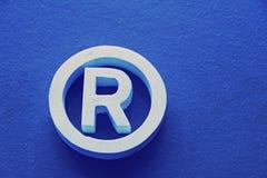 Eingetragenes Warenzeichen Lizenzfreies Stockbild