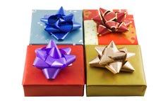 Eingewickelte Geschenke getrennt Lizenzfreie Stockbilder