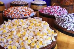 Eingewickelte Süßigkeit Stockfoto