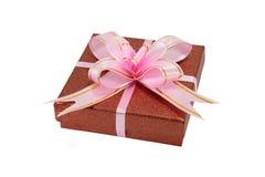 Eingewickeltes Geschenk Stockbild