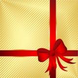 Eingewickeltes Geschenk Stockfotografie