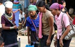 Einheimische Frauen Lizenzfreies Stockfoto