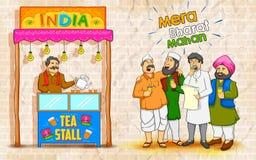 Einheit in der Vielfalt von Indien Stockfoto