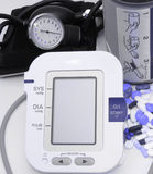 Einheit-neue und alte Technologie des Blutdruckes Lizenzfreie Stockfotos