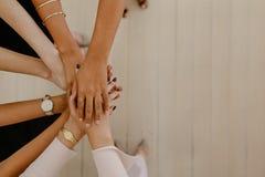 Einheit und Teamwork stockbild