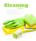 Einheiten für Reinigung Stockfotos