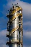 Einheiten für Salpetersäureproduktion auf Düngemittelanlage Stockfotos