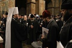 Einheits-Rat der ukrainischen orthodoxen Kirchen lizenzfreie stockfotografie