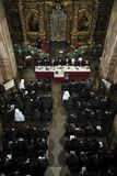 Einheits-Rat der ukrainischen orthodoxen Kirchen lizenzfreie stockfotos