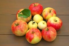 Einige Äpfel Lizenzfreies Stockfoto