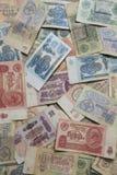 Einige alte sowjetische Banknoten Lizenzfreie Stockfotografie