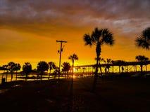 Einige Ansichten in Lake Charles Louisiana lizenzfreies stockfoto