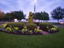 Einige Ansichten in Lake Charles Louisiana stockbild