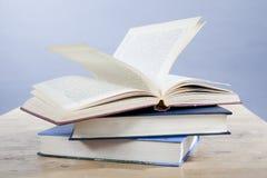 Einige Bücher Stockfoto
