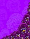 Einige Blumen Lizenzfreies Stockbild