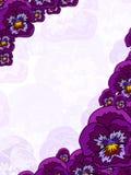 Einige Blumen Stockfoto