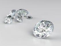 Einige Diamanten Lizenzfreies Stockbild