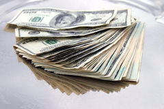 Einige Dollars Lizenzfreie Stockbilder